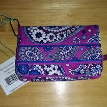 Vera Bradley Nwt Boysenberry One for the Money Wallet Iphone Case  Photo