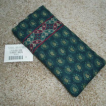 Vera Bradley Nwt Classic Green Single Eye Eyeglass Eyeglasses Case Freshpusa Photo