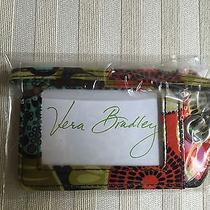 Vera Bradley Nwt Luggage Tag Flower Shower 2.75