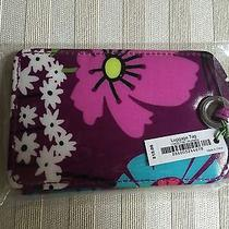 Vera Bradley Nwt Luggage Tag Flutterby 2.75