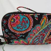Vera Bradley Nwt Parisian Paisley Blush/brush Make-Up Case 13944-340  Photo