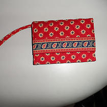 Vera Bradley Old Style Wristlet With Room Enough for Iphone Photo