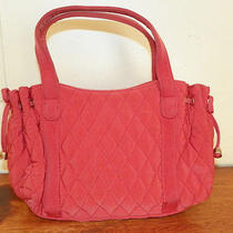 Vera Bradley-Orange Small Cotton Quilted Satchel Bag-Cotton --Free Shipping Photo