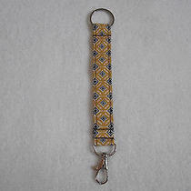 Vera Bradley & Other Fabric Key Chains W/ Silver Swivel Lock & Ring  Listing  2 Photo