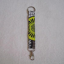 Vera Bradley & Other Fabric Key Chains W/ Silver Swivel Lock & Ring Listing  3 Photo
