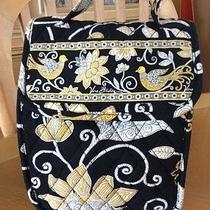 Vera Bradley Out to Lunch Yellow Bird Rare Retired Lunch Bag Tiny Spot Bottom Photo