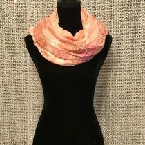 Vera Bradley Oversized Floral Blush Pink Scarf/wrap Photo