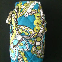 Vera Bradley Peacock Cell Phone Ipod  Purse Caseturquoise Aqua Retired Photo