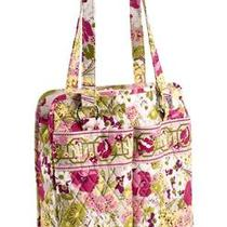 Vera Bradley Perfect Pocket Tote in Make Me Blush 11352-043 New With Tag Photo