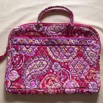 Vera Bradley Pink Floral Computer Bag   Photo