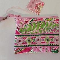 Vera Bradley Pinwheel Pink Coin Purse Nwt Photo
