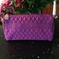 Vera Bradley Plum Microfiber Shoulder Bag  Photo