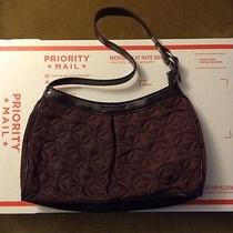 Vera Bradley Plum Microfiber Small Hobo Handbag Photo