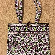 Vera Bradley Plum Petals Tote Photo