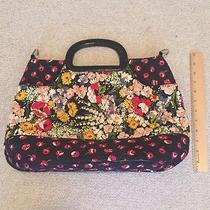 Vera Bradley Poppy Fields Unique Rare Purse Photo