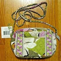 Vera Bradley Portobello Road Olive Green Purple Fay Chain Bag Purse New Nwt 42 Photo