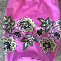 Vera Bradley Priscilla Pink College Dorm Xl Laundry Bag Tote  Photo