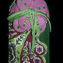 Vera Bradley Purple and Green Cell Phone Technology Clip Case With Flower Photo