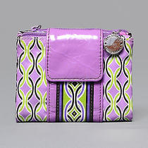 Vera Bradley Purple & Green Wallet Photo