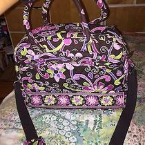 Vera Bradley Purple Punch Computer Travel Bag Photo