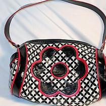 Vera Bradley Purse Black / White / Red Cute Cosmetic Bag Free Shipping Photo