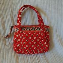 Vera Bradley Purse Discontinued American Red Pattern Photo