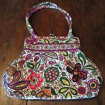 Vera Bradley Purse Handbag Quilted Bright Colorful Floral Print New Photo