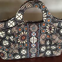 Vera Bradley Purse Tote Bag Quilted Floral Excellent Condition Photo