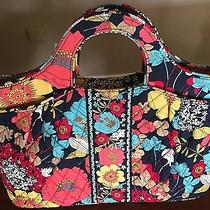 Vera Bradley Purse Tote Bag Quilted Floral New Without Tags.  Photo