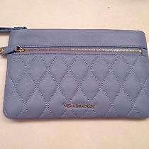 Vera Bradley Quilted Mia Leather Wristlet in Chambray - Nwt - Free Shipping Photo
