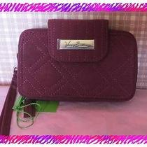 Vera Bradley Raisin Smartphone Iphone Case Wristlet Wallet  Nwtag Photo