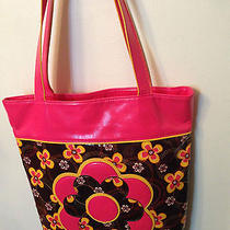 Vera Bradley Rare Buttercup a Frill Collection Tote Bag Limited Collection Photo