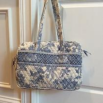 Vera Bradley Rare Hard to Find Blue Toile Diaper Bag Photo