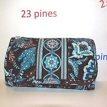 Vera Bradley Rare Rare Organizer Crossbody  Removable Strap Wallet Nwot Photo