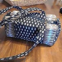 Vera Bradley Rare Zebra Black and Brown Purse Handbag  Photo