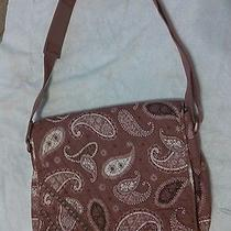 Vera Bradley - Red Bandana -  Computer or Messenger Bag Photo