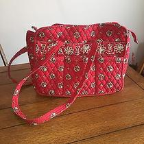 Vera Bradley Red Bandana Lined Diaper Bag Photo