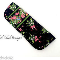 Vera Bradley Retired Botanica Curling Iron Cover Flat Iron Travel Case Rare/htf Photo