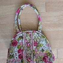 Vera Bradley Retired Eloise Kiss Lock Purse Tote