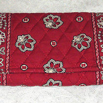 Vera Bradley Retired Rare Red Bandanna Wallet  - Missing the Strap Vgcv Photo