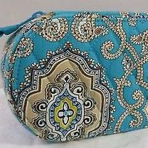 Vera Bradley Retired Totally Turq Jewelry Box Case Photo