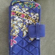 Vera Bradley Romantic Paisley Wristlet Cell Phone Purse Photo