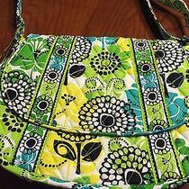 Vera Bradley Saddle Up Bag / Purse Lime's Up  Pattern - Nwt Photo