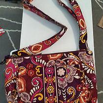 Vera Bradley Safari Sunset Shoulderbag Flap Bag Purse New Photo
