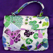 Vera Bradley Sateen Nicole Spring Limited Edition Purse Handbag Nwt Photo