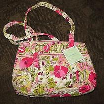 Vera Bradley Shoulder Bag Purse  in Make Me Blush Nwot Photo