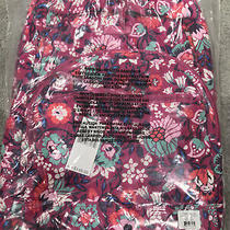 Vera Bradley Signature Cotton Bloom Berry Essential Large Backpack Nwt 149 Photo