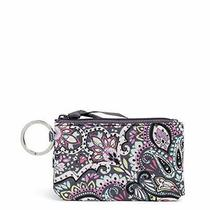 Vera Bradley Signature Cotton Deluxe Zip Id Case Wallet With Rfid Protection ... Photo