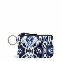 Vera Bradley Signature Cotton Zip Id Case Wallet Ikat Island Photo
