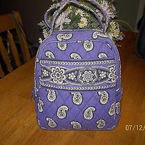 Vera Bradley Simply Violet Lunch Tote Bag Photo